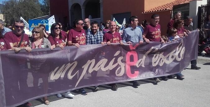 Rodríguez, se convierte así en el primer presidente de la Diputación que participa en una Trobada de Escoles en Valencià al menos en las últimas 20 ediciones.
