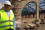 Sarrià supervisa las obras del Parque Central que serán visitadas por colectivos vecinales.