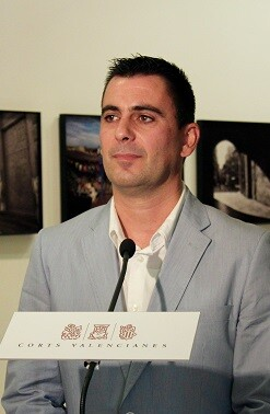 Toni Subiela, diputado de Ciudadanos en Les Corts.