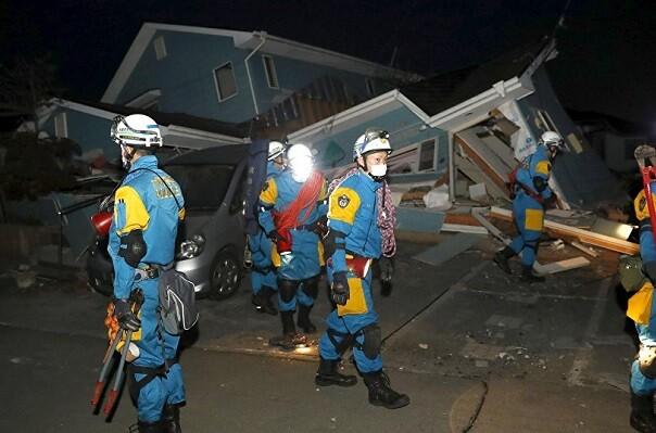 Un nuevo seísmo de magnitud 7,3 en el sur de Japón se cobra otras 19 vidas y 1.200 heridos.