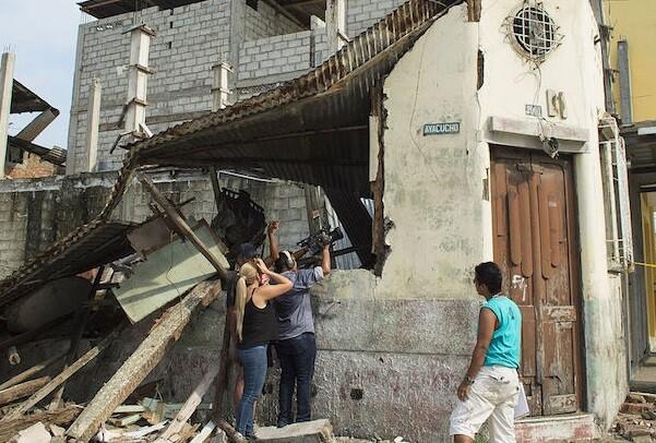 Un nuevo seísmo se registra en Ecuador con una magnitud 6 en la escala Richter.