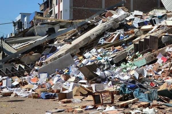 Un nuevo temblor de magnitud 6,1 sacude la costa de Ecuador.