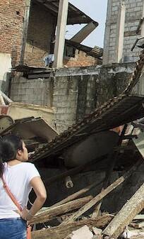 Ya son 587 los muertos a causa del terremoto.