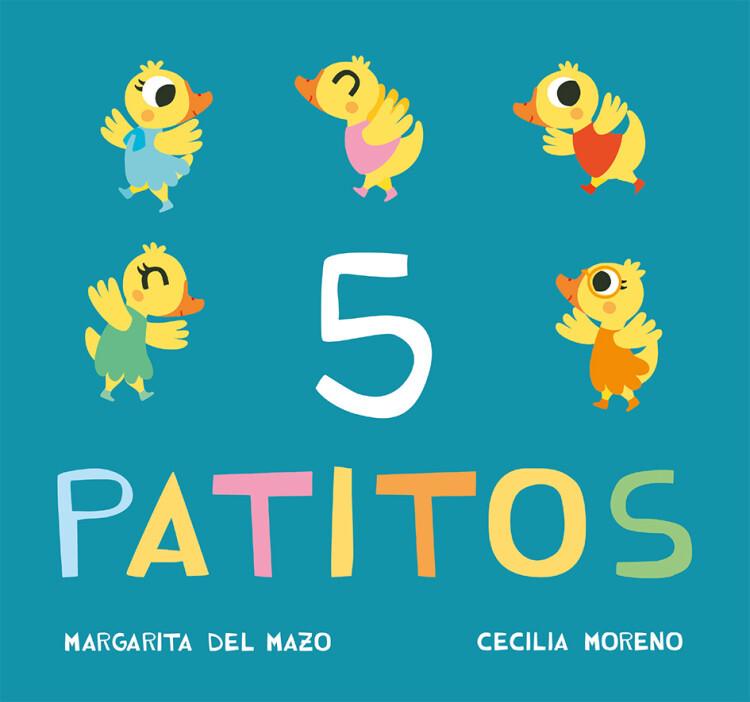 5 PATITOS_CUBIERTA_CASTELLANO.indd