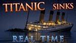El hundimiento del Titanic en tiempo real: dos horas y media de desesperación