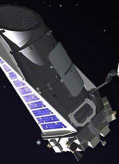 Imagen del telescopio Kepler.