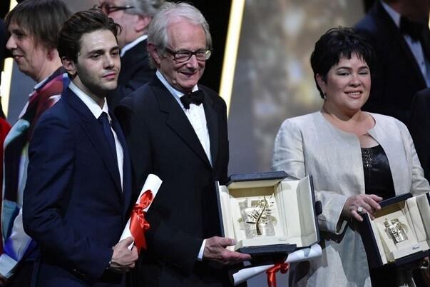 'I, Daniel Blake', del director Ken Loach, obtiene la Palma de Oro en Cannes.