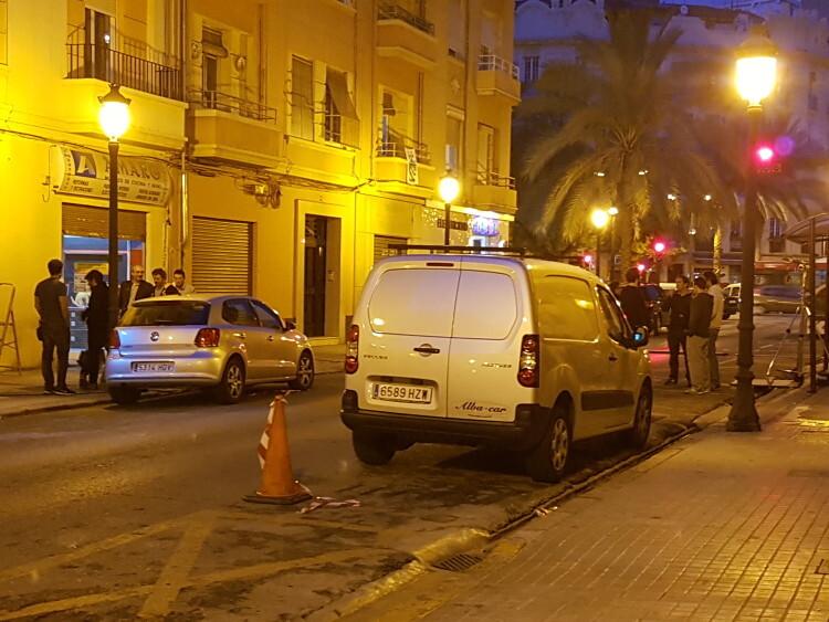 20160518_213336La ciudad de Valencia sigue con el rodaje de «Amar», de Esteban Crespo Netflix (1)