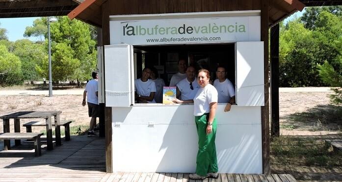 427 personas han disfrutado desde el 24 de marzo de diversas visitas guiadas por el Parque Natural de la Albufera.