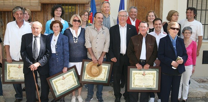 Amparo Nàcher Gimeno, de Castellar, se convirtió en la primera mujer que recibe el diploma que el Consell Agrari concede a  los Labradores Ejemplares.