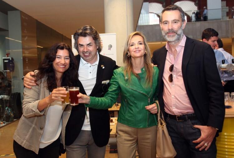 Angela Valero deP, Frank Vila, Silvia Lafuente y Nestor+