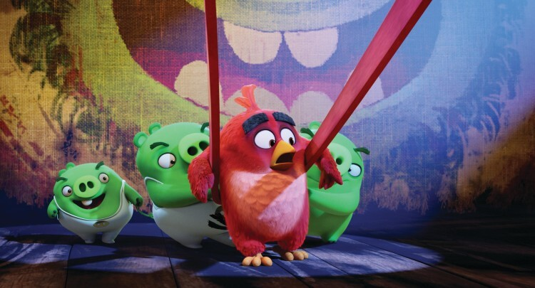 Red (Jason Sudeikis) in Columbia Pictures and Rovio Animation' class=