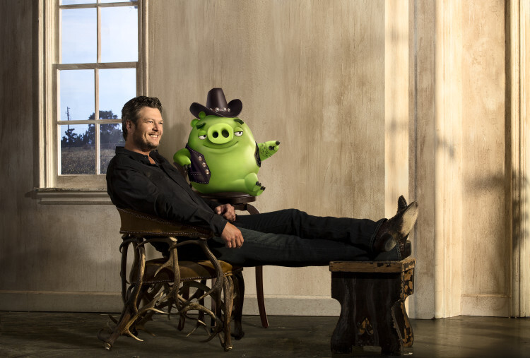 "Blake Shelton voices ""Earl"" in in Columbia Pictures and Rovio Animation' class="