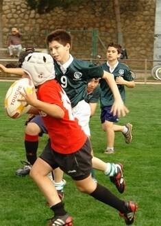 Arranca el torneo de Rugby Infantil 'Pantera'.