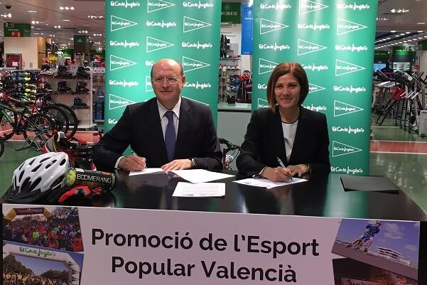 Ayuntamiento y El Corte Inglés refuerzan su compromiso con el deporte popular.