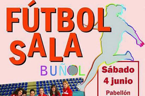 Buñol acogerá el próximo 4 de junio las finales de la VII Liga Provincial Senior Femenina de fútbol sala en el Pabellón del Planell.