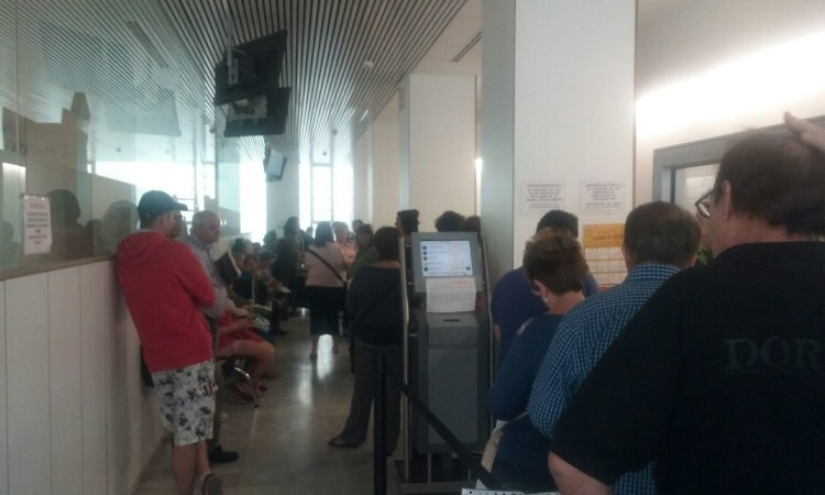 CSI·F denuncia la masificación en el registro en Valencia de los servicios territoriales de Servef, Prop y Políticas Inclusivas (2)