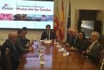Calabuig firma el protocolo de colaboración con la UNESCO para las actividades de la Ruta de la Seda.