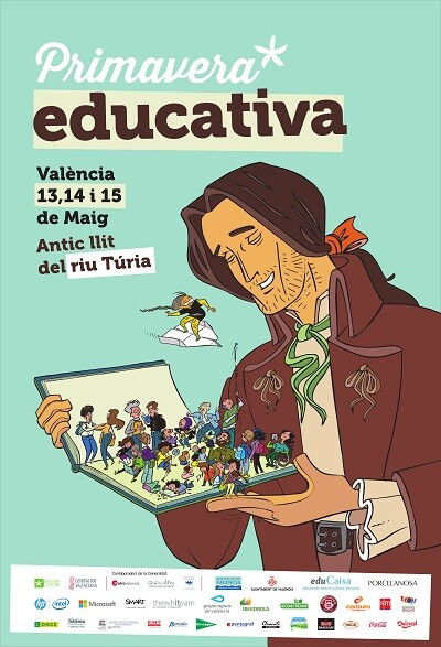 Cartel de la Primavera Educativa.