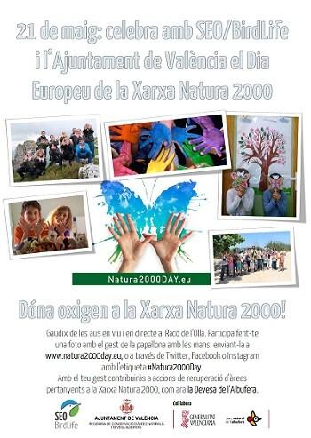 Cartel del Dia Europeu Xarxa Natura 2000.