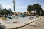 Chiva invierte 20.000 euros en mejoras en el parque de la Loma del Castillo.