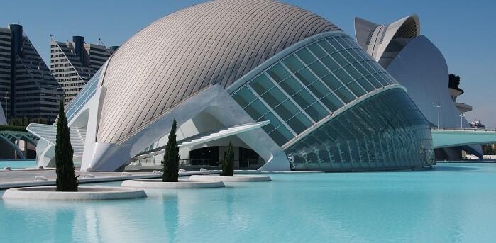 Ciudad de las Artes y las Ciencias (Foto-Francisco Campos).