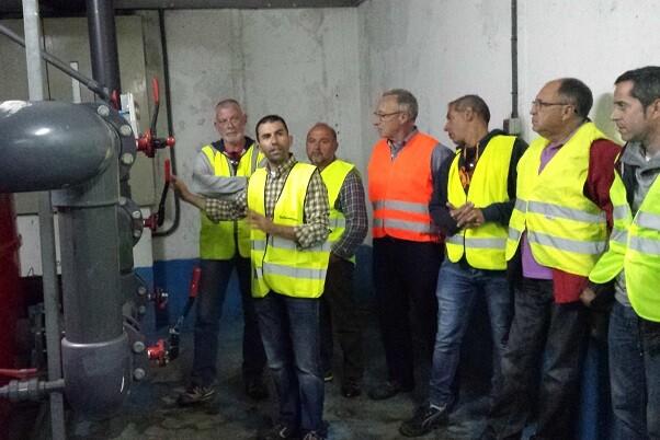 Colaboración de Aguas de Alicante con la Diputación en actividades formativas.