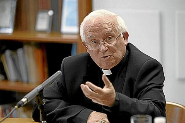 Denuncia conjunta contra el arzobispo Cañizares por su discurso de odio.