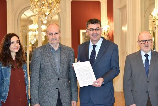 El Consejo de Transparencia presenta su memoria anual a les Corts Valencianes.