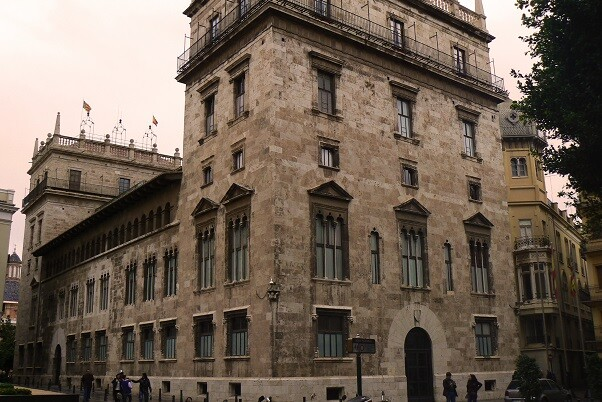 Palacio Generalitat Valencia