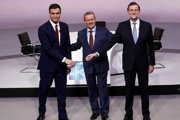 El Partido Popular propone un debate a cuatro y rechaza un 'cara a cara' Rajoy-Sánchez.