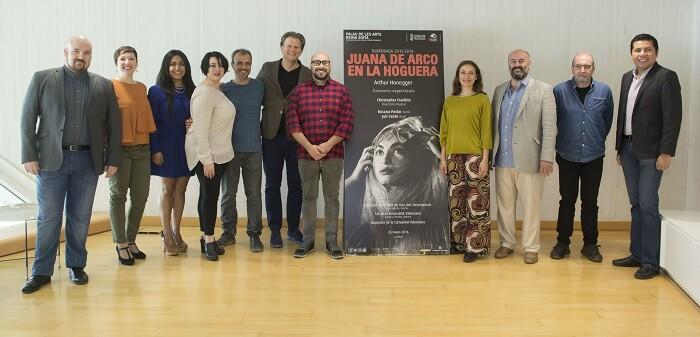 El actor Juli Cantó y los cantantes Karen Gardeazabal, Federica Alfano, Cristina Alunno, Mario Corberán y Alejandro López completan el elenco.