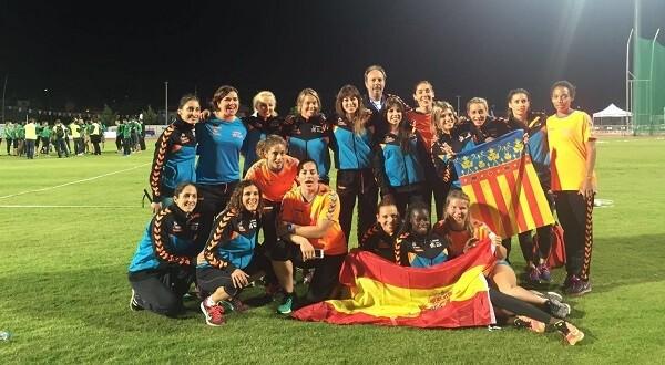 El equipo valenciano que llegó a Turquía y logró alcanzar el subcampeonato.