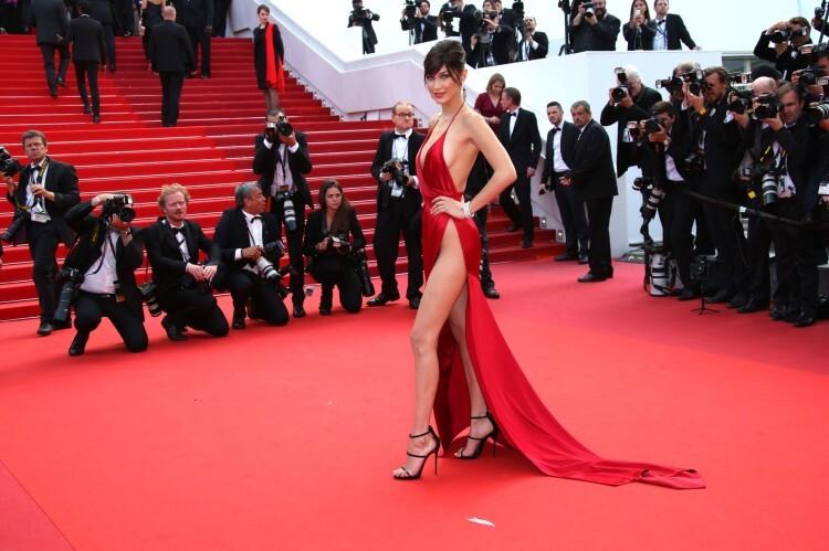 El sexy vestido rojo que revolucionó Cannes (5)