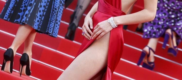 El sexy vestido rojo que revolucionó Cannes (8)