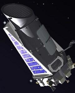 El telescopio Kepler.