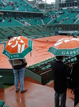 El torneo Roland Garros ha sido suspendido por el momento.