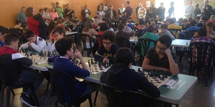El torneo se disputó en la sala del Ajedrez ubicada dentro del centro deportivo y cultural La Petxina.