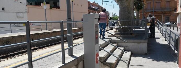 En el conjunto de la red existen 228 validadoras en superficie y 496 en estaciones subterráneas.