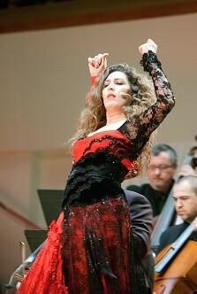 Estrella Morente. (Foto-Eva Ripoll-Archivo Palau Música).