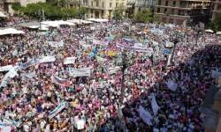 Familias y docentes piden #salvemosconcertada la escuela concertada y la dimisión del conseller (1)