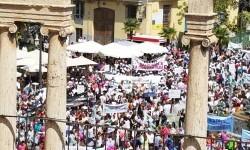 Familias y docentes piden #salvemosconcertada la escuela concertada y la dimisión del conseller (11)