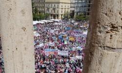 Familias y docentes piden #salvemosconcertada la escuela concertada y la dimisión del conseller (13)