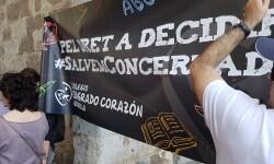 Familias y docentes piden #salvemosconcertada la escuela concertada y la dimisión del conseller (2)