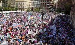 Familias y docentes piden #salvemosconcertada la escuela concertada y la dimisión del conseller (8)