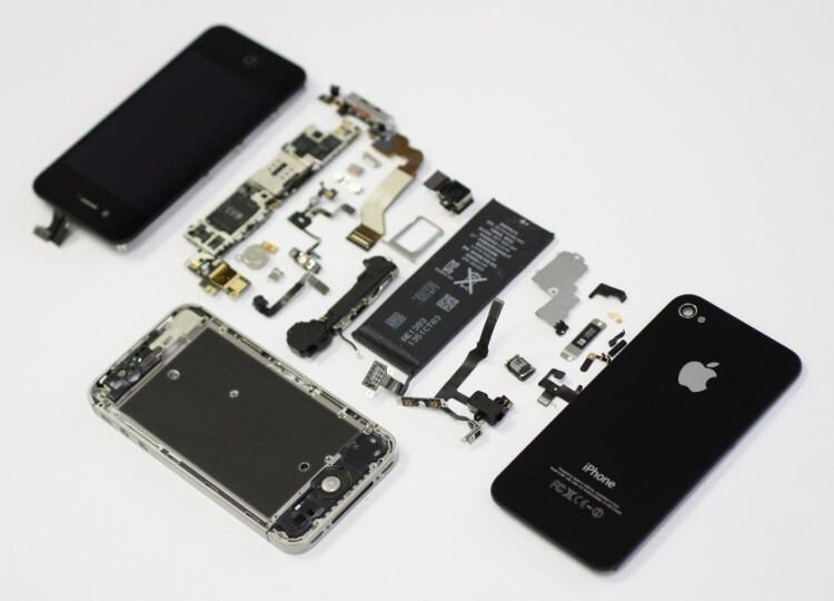 Imagen piezas iPhone