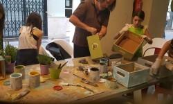 Intenso fin de semana con los talleres de Leroy Merlin en Marcado de Tapinería #ideasconvida 20160529_170010 (33)