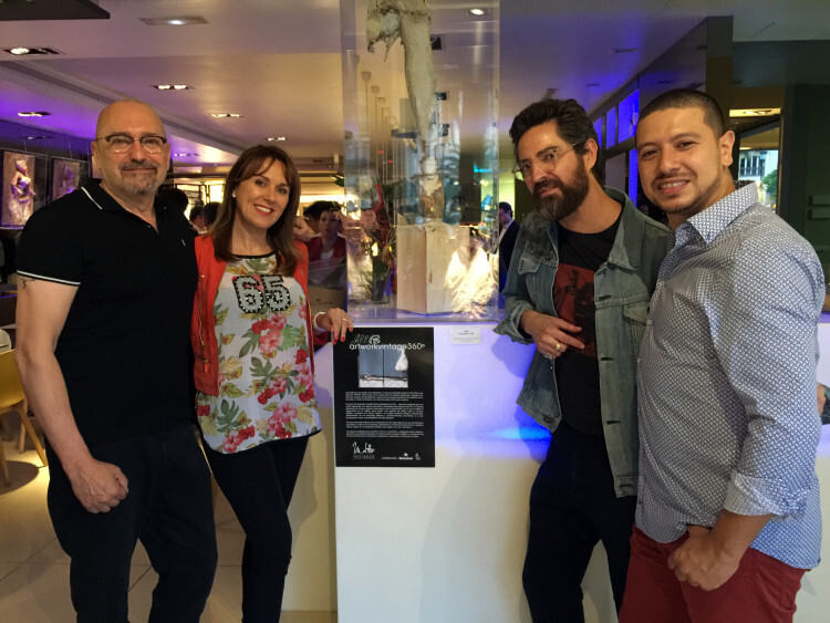 Josep Lozano, Lourdes Luz, Jarr y John Henao