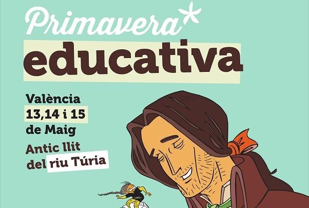 La Diputación de Valencia lleva diversas propuestas formativas a la Primavera Educativa.