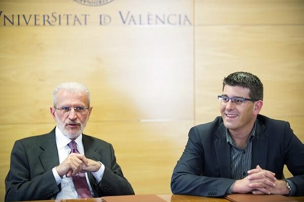 La Diputación firma dos nuevos convenios de formación con la Universitat de València. (Foto-Abulaila).